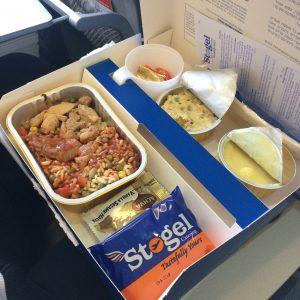кошерная еда в самолете